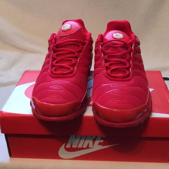 Nike Air Max Plus Tn Triple Red